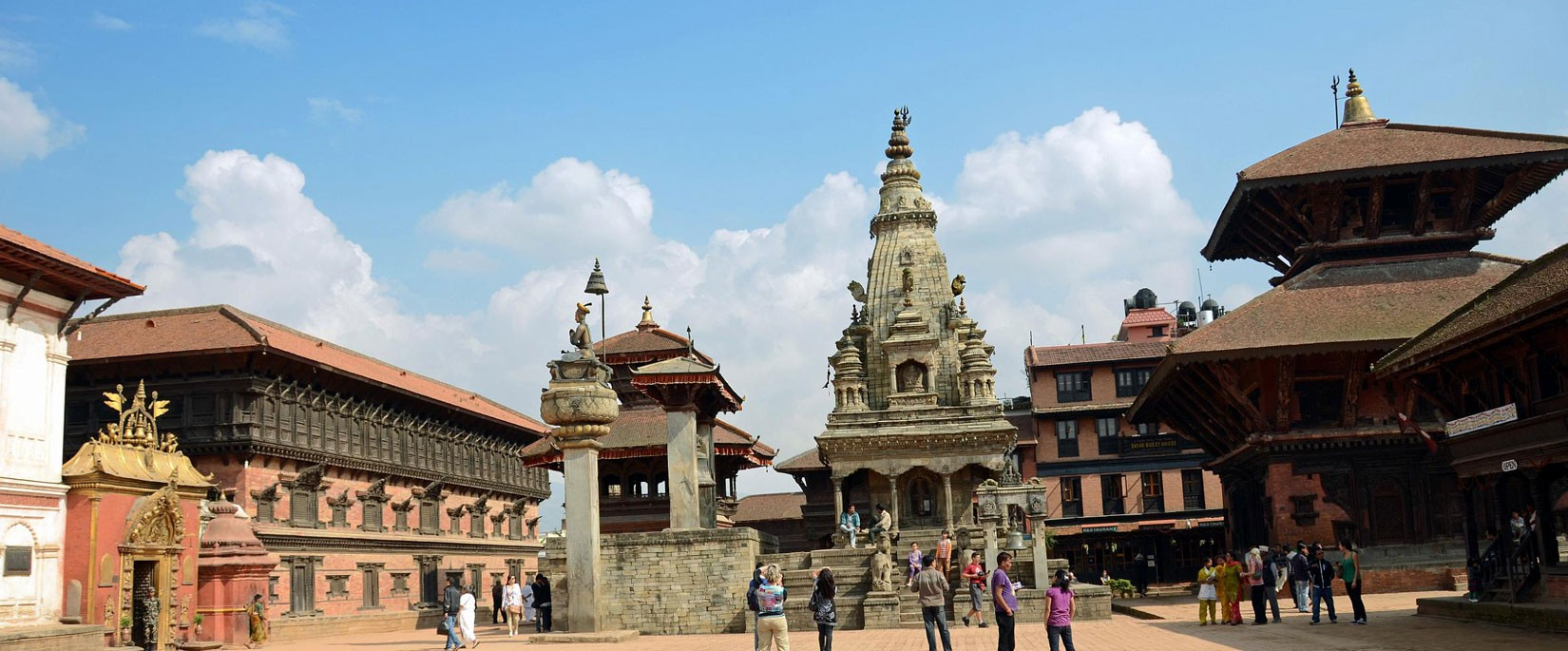 Visiting the Bhaktapur Durbar Square