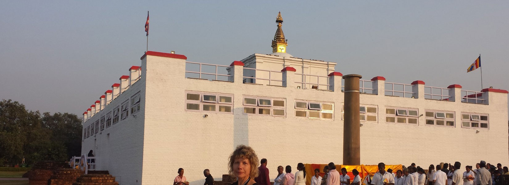 Lumbini the birthplace of buddha