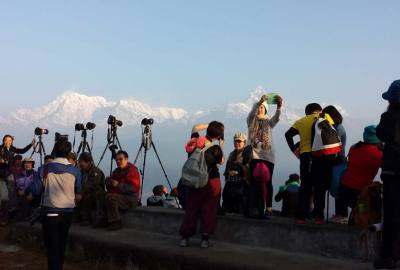 Round around the Dhaulagiri